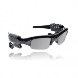 Build-in 8g Memory Video Record Camera MP3 Player Bass Stereo Bluetooth Sunglasses