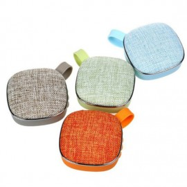 Portable Multimedia Outdoor Fabric Design Bluetooth Speakers Stereo Surround Sound Pth-X25