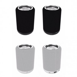Fashion Gadgets Private Model Outdoor 3D Stereo Round DJ Bass Speakers