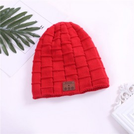 Hot Sale Gift Wireless Earphone Hat Winter Warm Beanies Music Skullies Unisex Cool Knitted Cap Rg5
