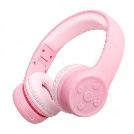 High Quality on-Ear Kids Bluetooth Headsets Scalable Adjustment Child Wireless Headphones