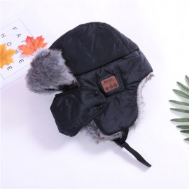 2019 Christmas Gift fashion Wireless Bluetooth Winter Warm Hat Headphone Knitted Beanie Lf3
