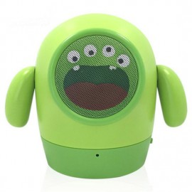 Mini Portable Kids Lovely Cartoon Speaker Bluetooth Soft Dolls for Youngs