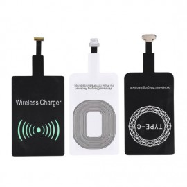 High Quality Compatible Coil Fast Charging Qi Wireless Charger Receiver Charging Adapter
