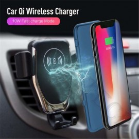 Car Holder Quick Charging Rt-C1 GPS Positioning One Key for Car Wireless Charger