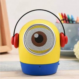 Cute Doll Mini Portable Rechargeable Bluetooth Speaker