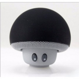 Mushroom Silicone MP3 Player Wireless Bluetooth Speaker with Suction Cup
