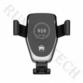 Rt-C1 Phone Holder Stand Car Air Vent Mount Qi Wireless Charger