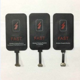 2A Fast Charging Qi Wireless Charger Receiver Adapter for Android iPhone Type C