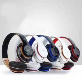Bluetooth Folding Headphone Stereo Headsets Wireless Head Phones