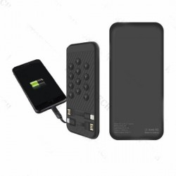 Universal 10000mAh Ultra Slim Portable Mobile Phone Charger Power Bank