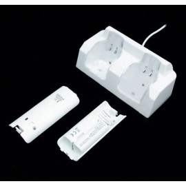 USB CHARGING DOCK WITH BATTERIES DESIGN FOR NINTENDO WII REMOTE