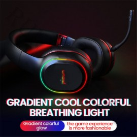 High Quality Picun P80s Colourful Music Custom Gaming Headset Wireless Headphone