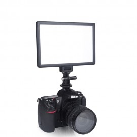 LED Dual Color Dimmable Slim DSLR + Battery + Charger for Camera
