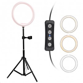 12W for Video Photo Studio Light with Tripod 1.6 M