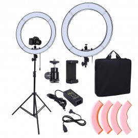 Camera Photo Studio Video 55W 240pcs LED Ring Light