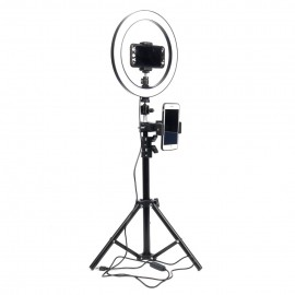 10 inch 26cm USB Interface Dimmable LED Selfie Ring Light Camera