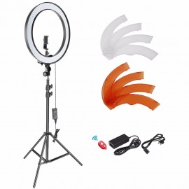 18-inch External Dimmable Light Bulb LED Ring Flash Lighting Kit