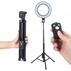 Tycipy Ring Light Kit 26cm Photography Dimmable LED Selfie Ringlight